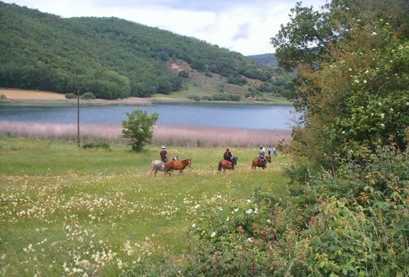 ruta caballo montcortes