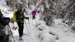 Excursión con raquetas de nieve por el Parque Nacional