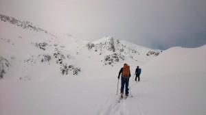 Excursión esquí de montaña